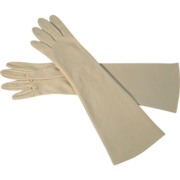 Vintage White Gloves Longer Length 1950s