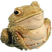 Harmony Kingdom Lord Foxglove Frog Toad Special Event Box Figurine