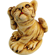 Harmony Kingdom Orange Crush Tiger Box Figurine