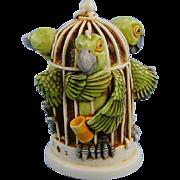 Harmony Kingdom Great Escape Parrots Version One Treasure Jest