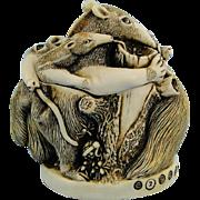 Harmony Kingdom Antipasto Anteaters Treasure Jest