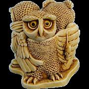 Harmony Kingdom Wise Guys Owls Treasure Jest Box