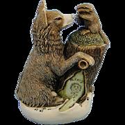 Harmony Kingdom Peace Summit Wolf Treasure Jest Box Figurine