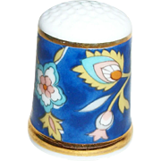 Thimbles of the World Collection Bone China Thimble Shozan,  Japan