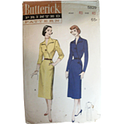 Vintage Sewing Pattern Women's Surplice Dress UNCUT