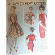 Vintage Sewing: 1960's Mad Men Era Dresses, How To Sew