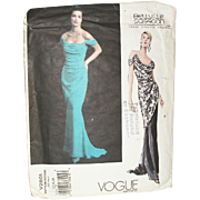 Vintage Sewing: VOGUE Bellville Sassoon Evening Gown