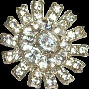Vintage Crystals Small Pin/Brooch