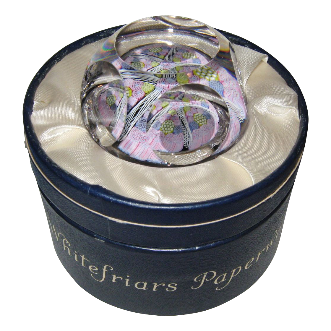 Vintage Whitefriars Paperweight, 1976