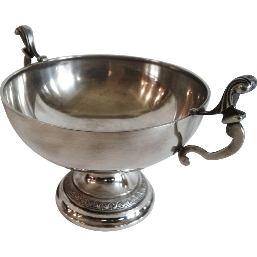 "An Antique French .950 Silver ""Coupe de Marriage"", CA.1890"