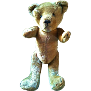 Antique Teddy Bear, Straw Stuffed