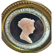 A Rare Original Memorial to Charlotte Augusta, Died 1817, Princess of Wales