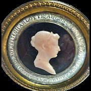 A Rare Original Memorial to Charlotte Augusta, Died 1817, Princess of Wales