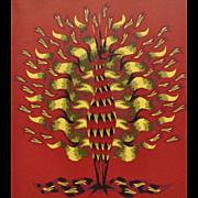 A Fine Original Jean Picart Le Doux Lithograph, CA.1950's