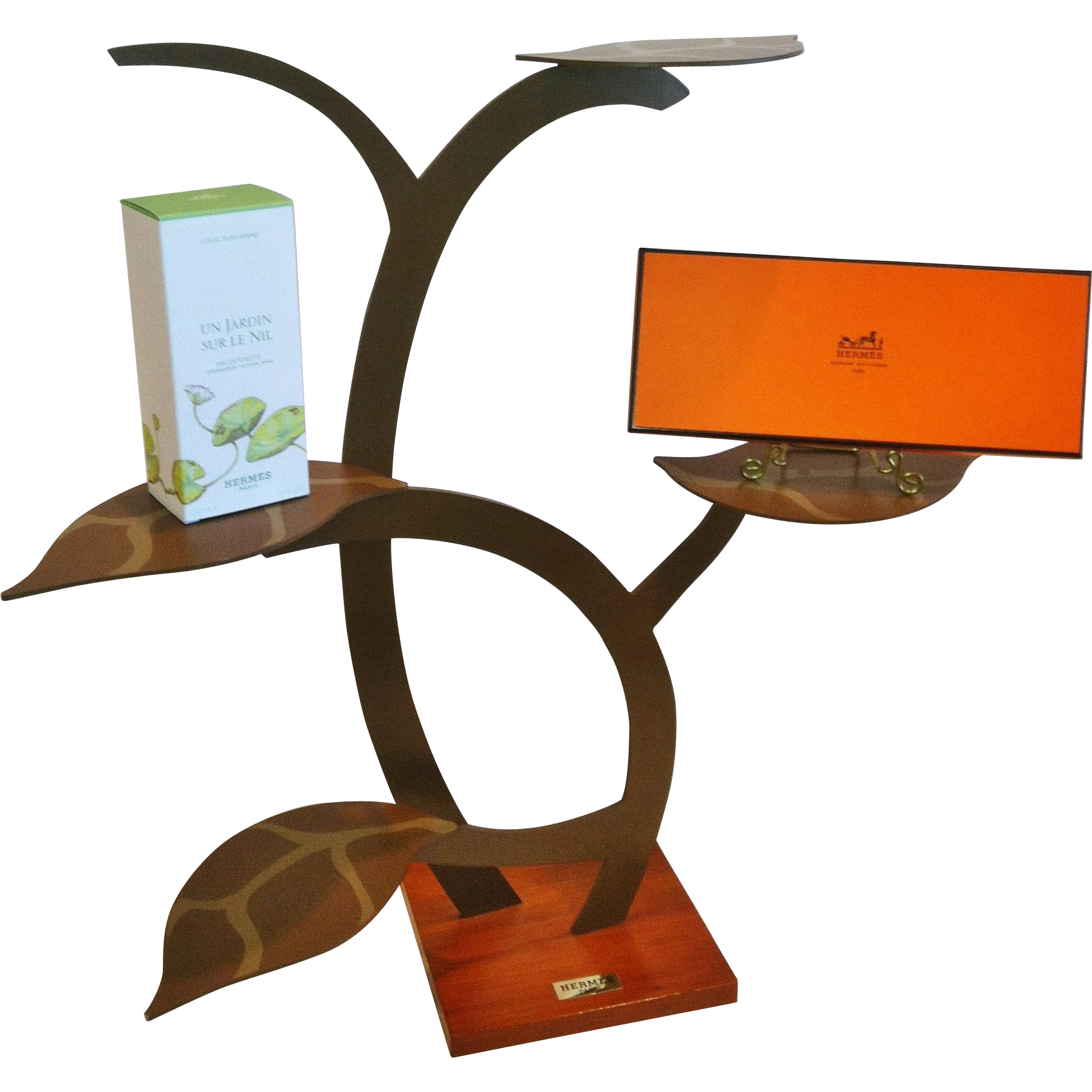 """Hermes"" Display Stand,Tree Form, Vintage Original"