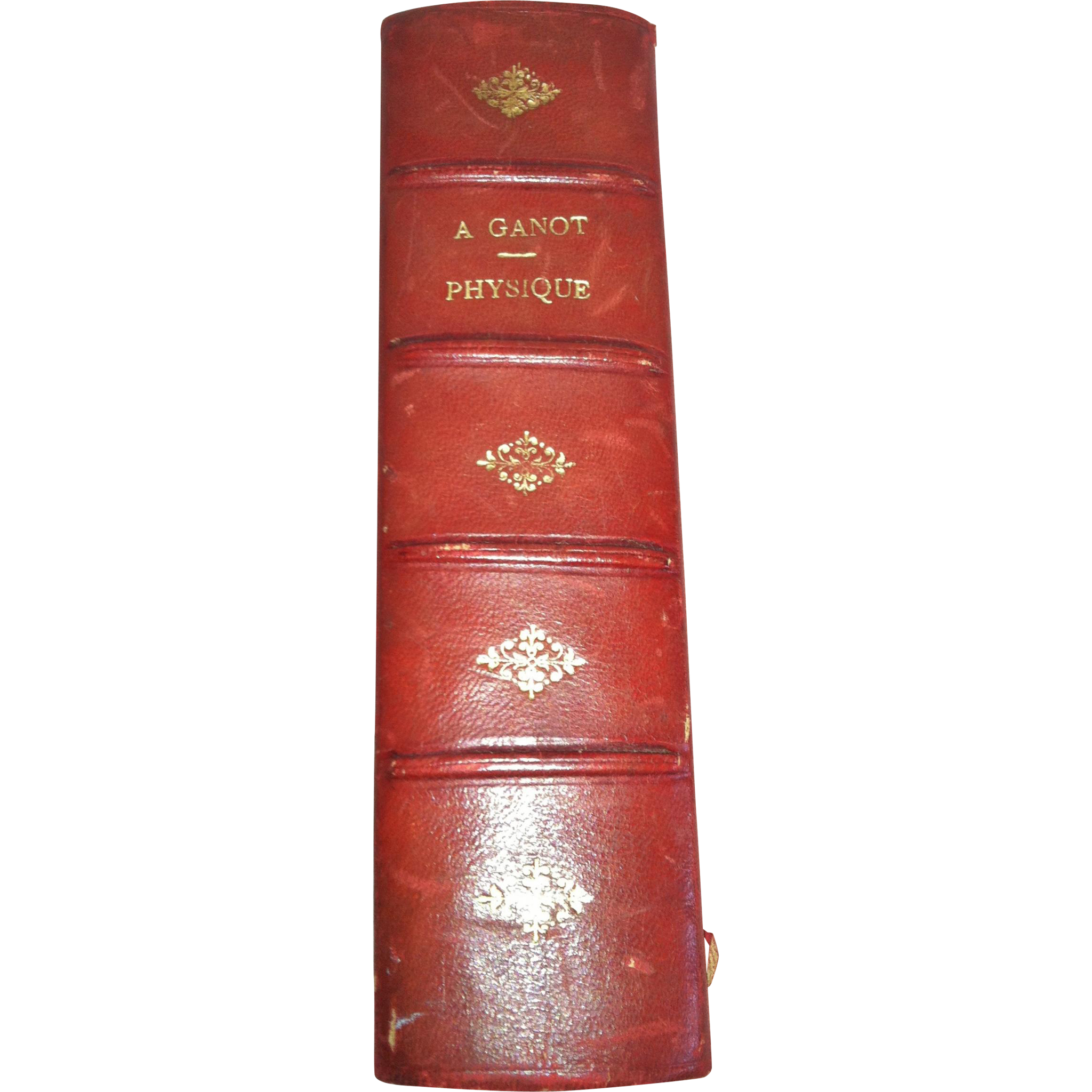 """1880 Book """"Traite' de Physique-A.Ganot, Experiments et Appliques et Meterologie"""""""