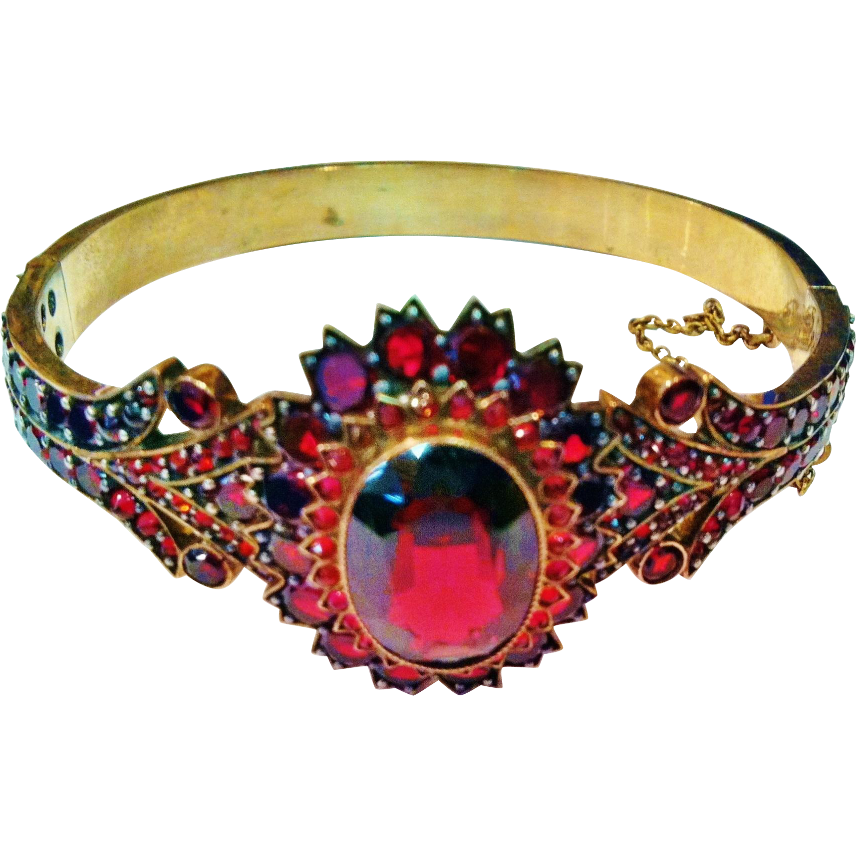 Victorian Garnet Bracelet, CA.1890