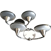 Pair of French Art Moderne Wall Sconces, CA.1930's