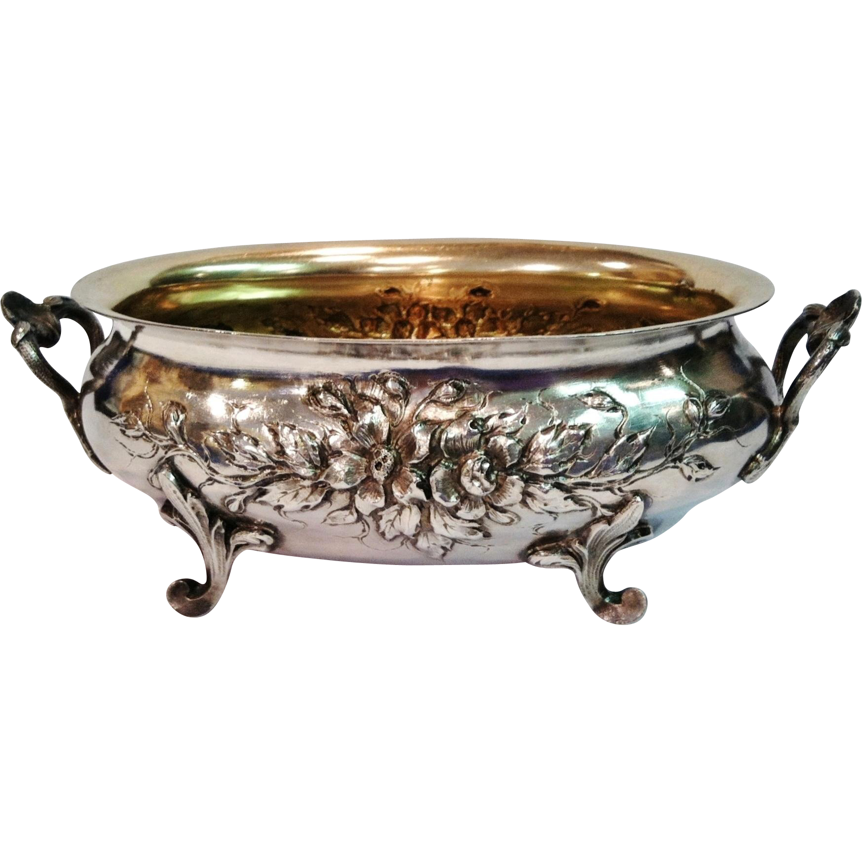 Cardeilhac Sterling Bowl,Footed,CA.1880's