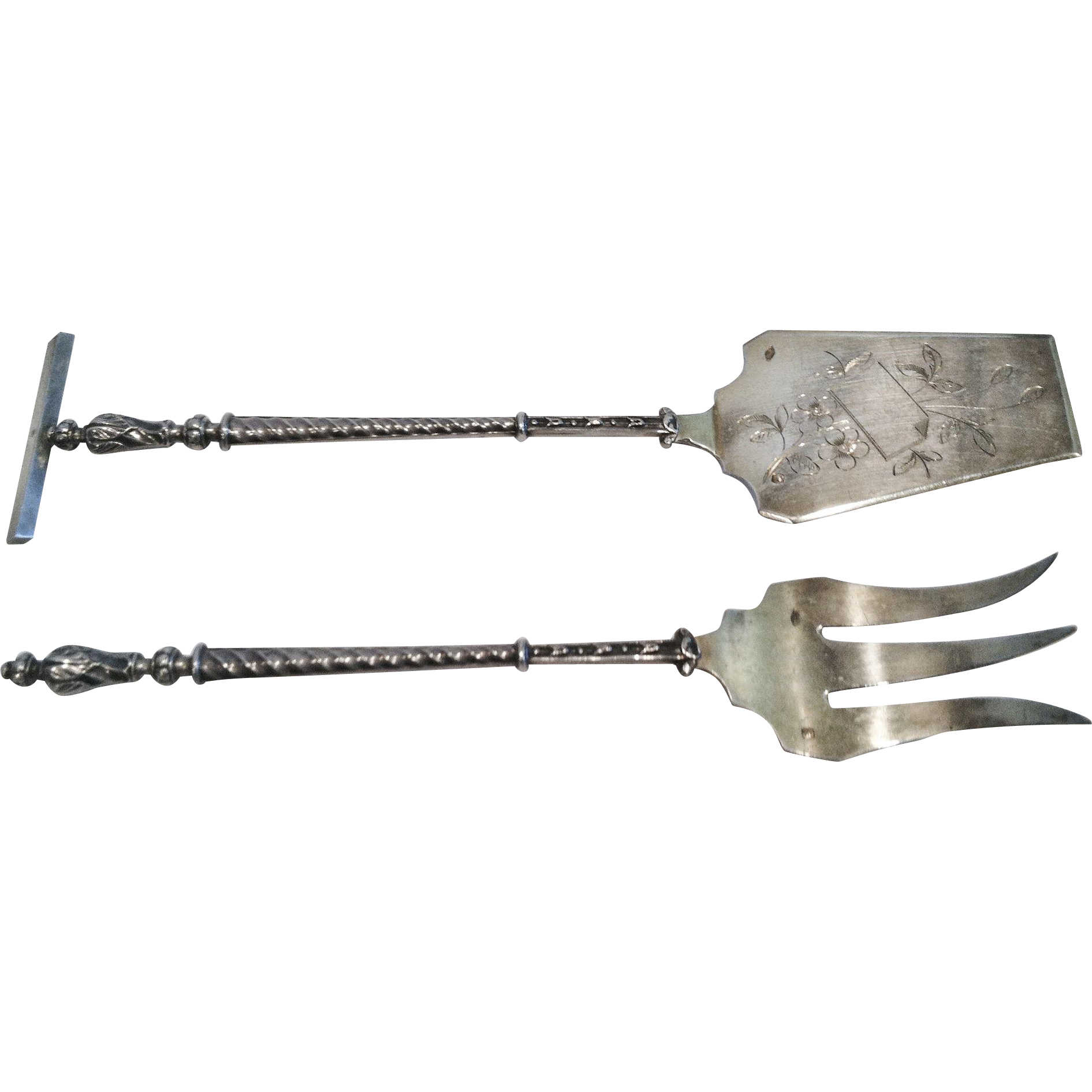 French .950 Silver Serving Set, CA.1880