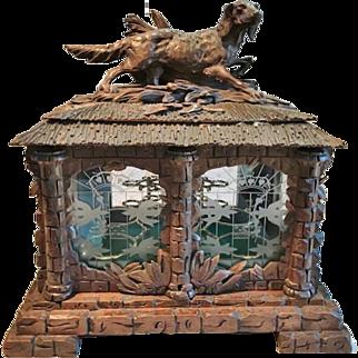 Antique Black Forest Liqueur Cabinet, CA.1880