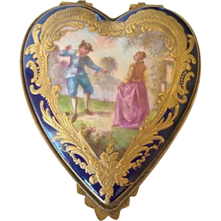 French Patch Box, 19th Century