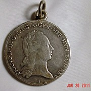 Francesco II of Asburgo 1795 Coin/Pendant