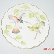1972 Royal Worcester Dorothy Doughty Redstarts & Beech Plate