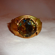 Vintage Sarah Coventry Versailles Cuff Bracelet Signed