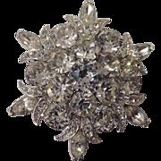 Vintage Eisenberg ICE Rhinestone Pin/Brooch