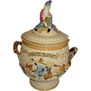 19th Century Gnome Mettlach Soup Tureen