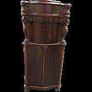 1894–1904 Grafonolo Deluxe Combination Music Box/ phonograph