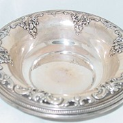 Grande Baroque Sterling Silver Wallace Pierced Bowl