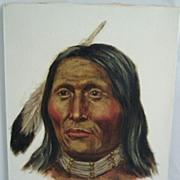 ORIGINAL Joe Ruiz Grandee Oil On Canvas Painting White Shield Cheyenne