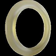 Art DECO PRYSTAL Bakelite Flying Saucer 24 grams! - Star light!