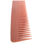 Art Deco NOS Twin Cut Keronyx British made Coral Comb