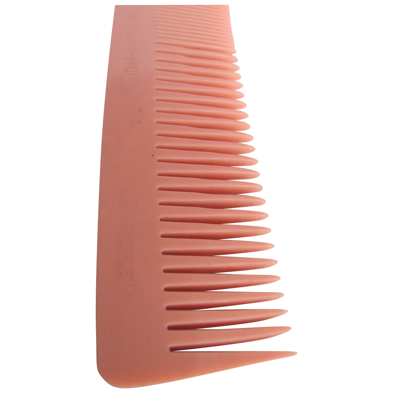 Art Deco NOS Twin Cut Galalith British made Coral Comb 2 for 1 offer