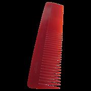Art Deco NOS Twin Cut Keronyx British made Red Comb