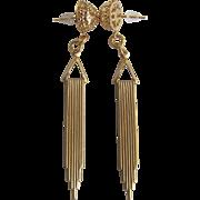 Little Creations GP Geometric and Filagree Pierced Earrings