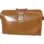 1940's Cowhide Leather Attache Brief Case Reconditioned