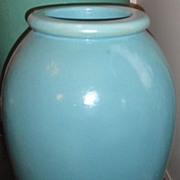 "Large 30"" glazed galloway  terra cotta pottery garden urn"