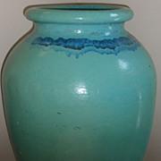 Huge 35' glazed galloway terra cotta pottery garden urn