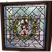 Hewitt family stained glass window