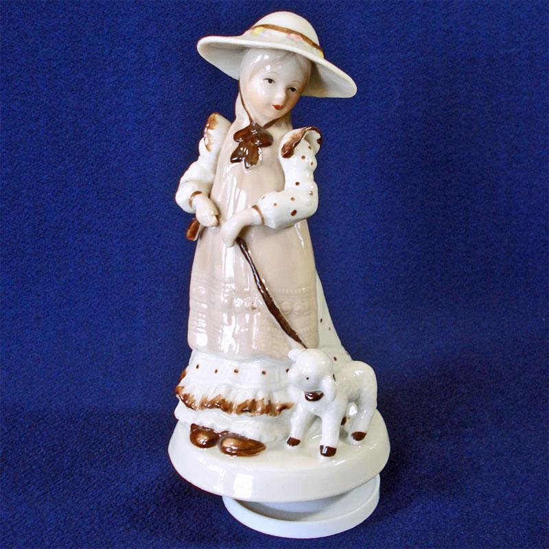 2 Pearl Lusterware Japan Kneeling Angel Candle Holder Figurines