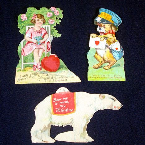 3 German Valentines Circa 1910