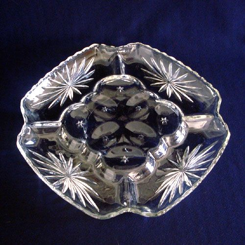 Early American Prescut Deviled Egg Plate From