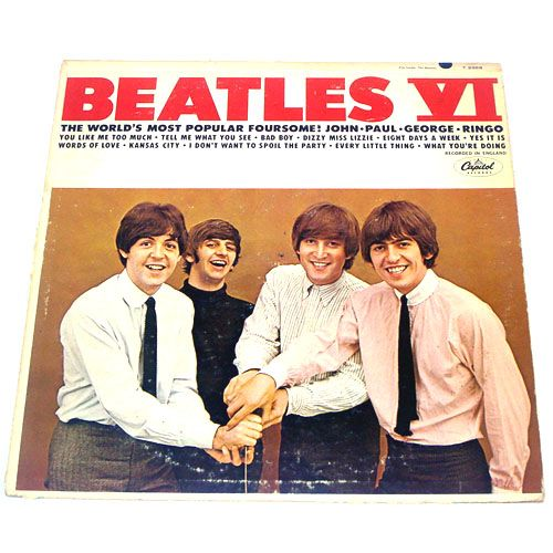 Beatles VI LP Vinyl Record Album Mono
