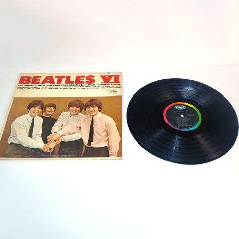 Beatles Vi Lp Vinyl Record Album Mono From Coppertonlane