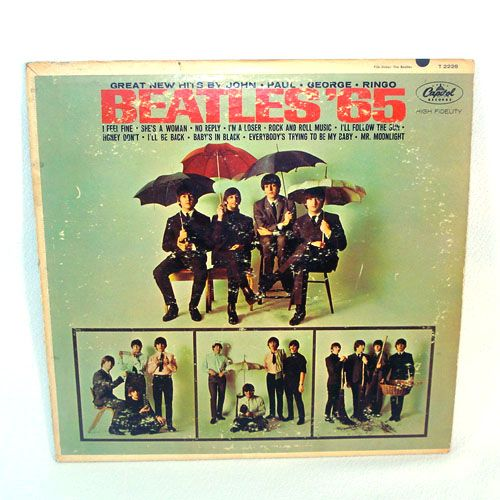 Beatles '65 LP Vinyl Record Album