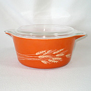 Replacement Lid for 2.5 Qt Pyrex Butterfly Gold Casserole